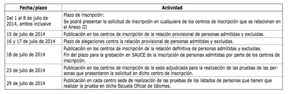 CAlendarioInscripcion